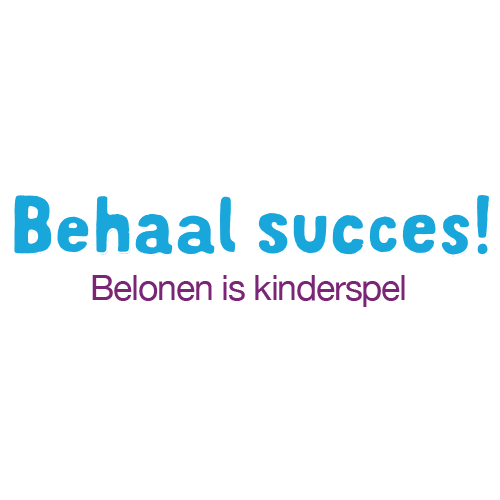 Behaal succes!  Belonen is kinderspel